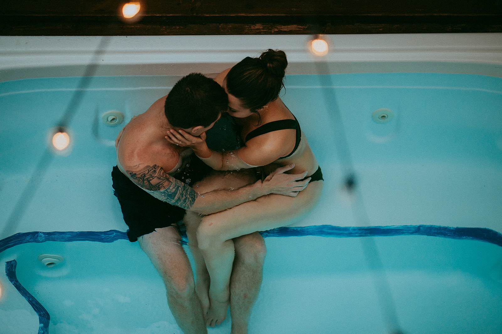 hot tub session