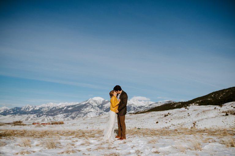 winter chico wedding