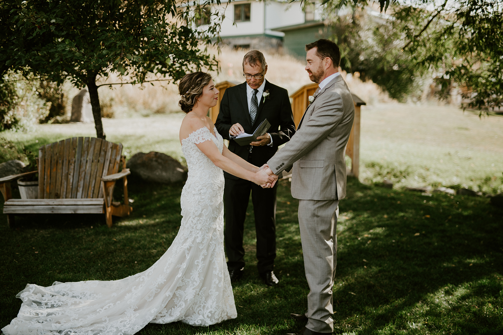 Chico Hot Springs Wedding